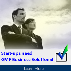 Start-ups need GMF Business Solutions!
